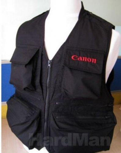 Canonholics Photographers Vest Cheesycam