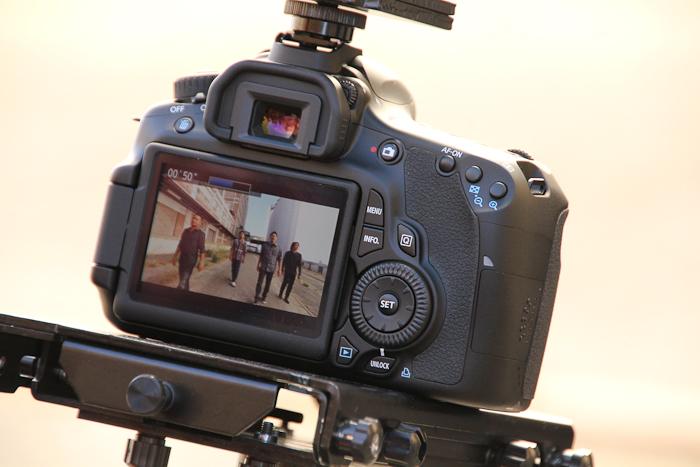 Three Camera Music Video shot on Canon EOS 60D | CheesyCam
