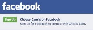 Cheesycam-facebook