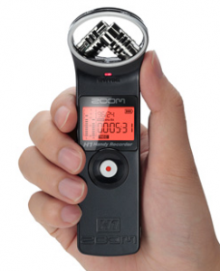 zoom h1 recorder