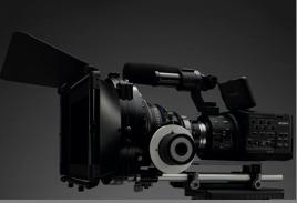 Sony new NEX-FS100E