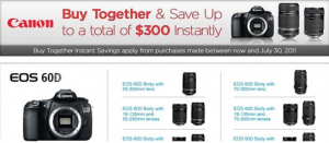 Canon Rebate Page