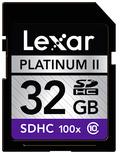 Lexar 32GB SDHC