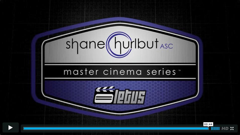 Shane Hurlbut ASC Master Cinema Series