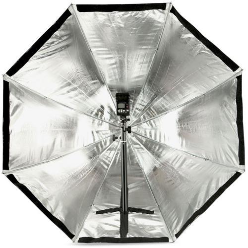 Umbrella Like A Softbox: Octagon Softbox For Portable Speedlite Flash