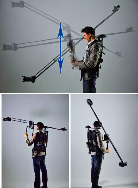 Trex video crane rig