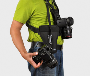 Multi Camera Carrier Harness Holster