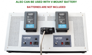 2000 LED V-Mount Battery