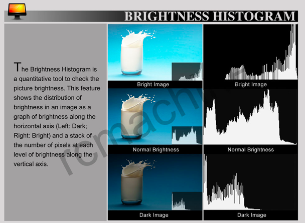 Lilliput Brightness Histogram