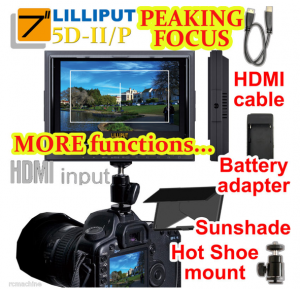 "Lilliput 7"" LCD HMDI Monitor"
