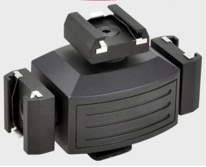 Opteka VB-30 triple shoe adapter cube