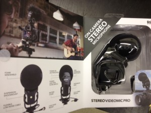 Stereo-Rode-Videomic