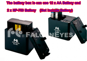 240 LED battery pack