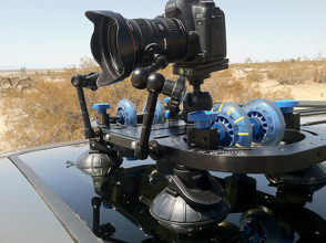 camtrac timelapse video dolly