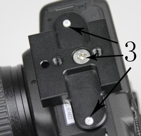 Canon 5D Anti Twist Plate