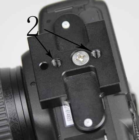 Canon 5D Mark II Anti Twist Plate
