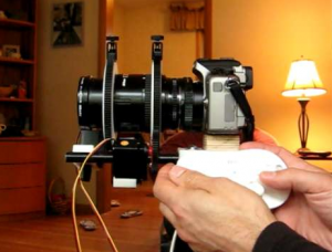 DIY Wii DSLR Focus Zoom Synchronize Controller