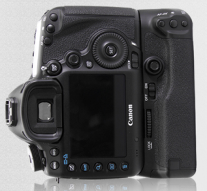 Canon 5D Mark III Aftermarket Battery Grip Alternate