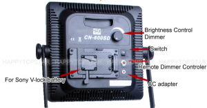 CN-600 SD LED lights Cheesycam