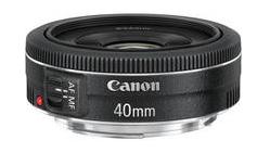 Canon 40mm STM Pancake