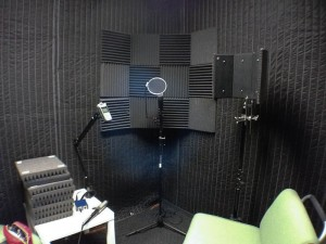 Pleasing Sound Absorption For Voice Recording Room Cheesycam Largest Home Design Picture Inspirations Pitcheantrous