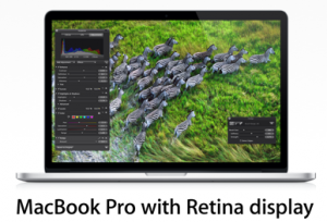 Apple new MacBook Pro Retina