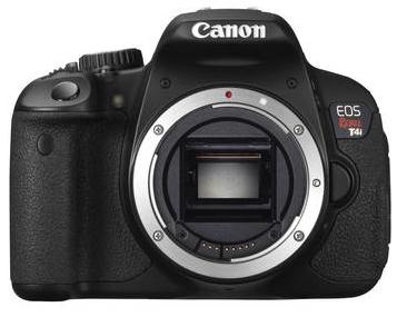 Canon T4i DSLR