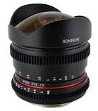 Rokinon 8mm Cine Lens