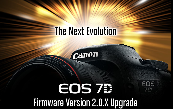 Canon 7D Firmware Update Manual Audio