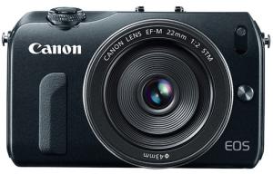 Canon EOS-M Camera