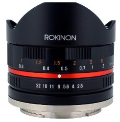 Rokinon 8mm Ultra Wide Angle Lens Sony E-Mount