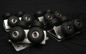 Swivel Dolly Track Wheel Caster Set Assemblies