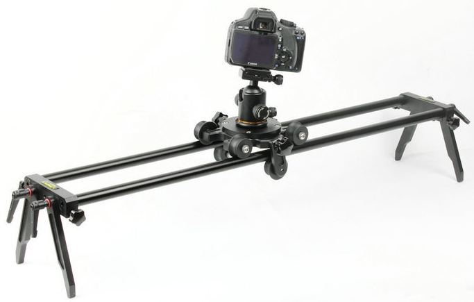 Dual Track Rail Video Slider Dolly Camera DSLR