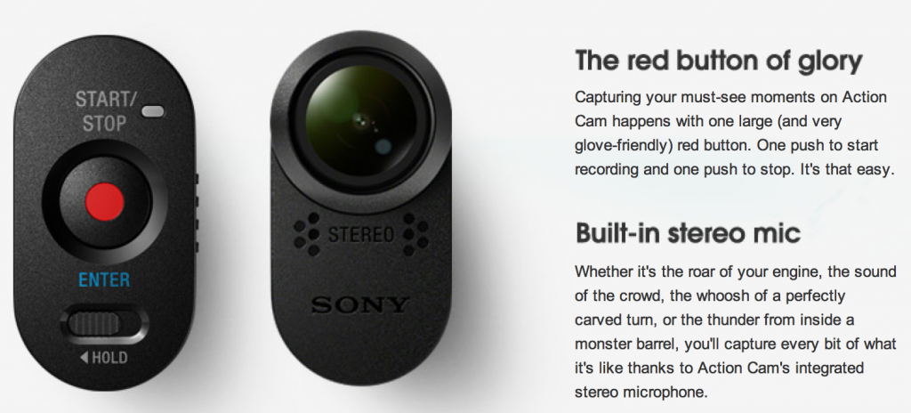 Sony Action Cam Video Review