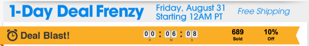 ebay frenzy