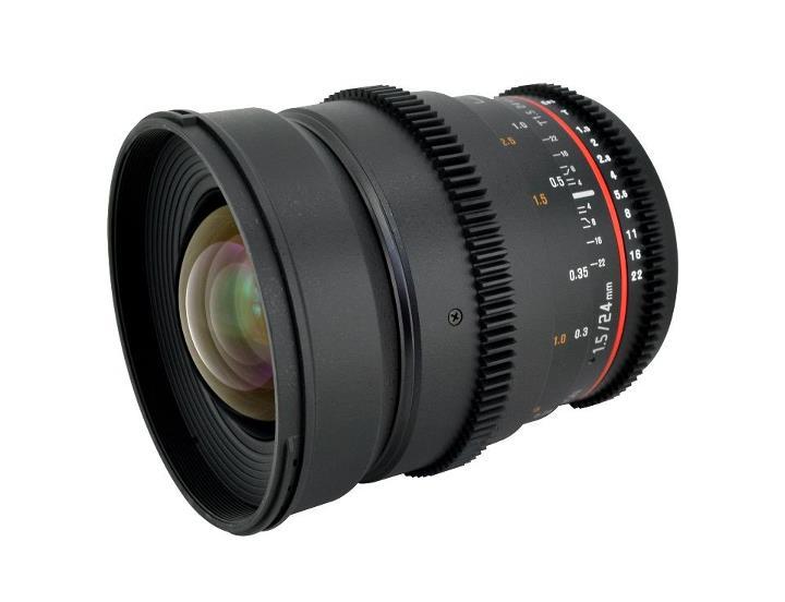 Rokinon Cine Lens 24mm