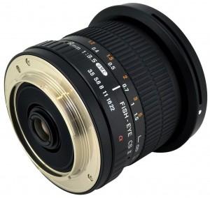 Rokinon Samyang 8mm Fishey HD