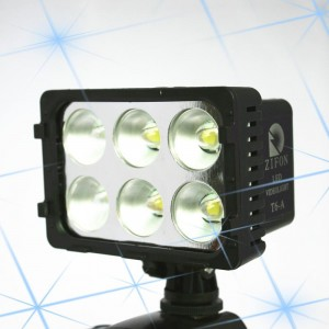 Super T6A LED Video Light