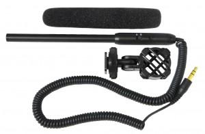Polaroid Mini Shotgun Microphone