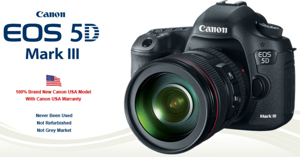 Canon 5D Mark III Deal