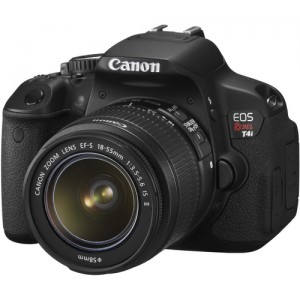 Canon T4i 650D