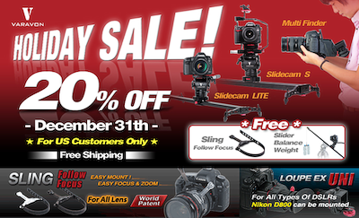 Varavon 20% OFF Holiday Sale