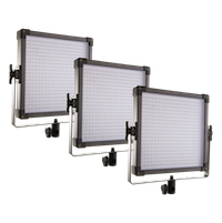 F&V K4000s Bi-Color (Color Adjustable) LED Video Light Kit