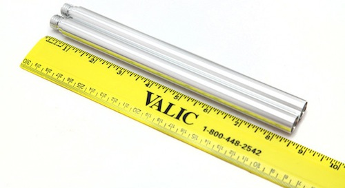 15mm extension rails rods PNC rig