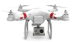 DJI Phantom QuadCopter GoPro Hero Flight