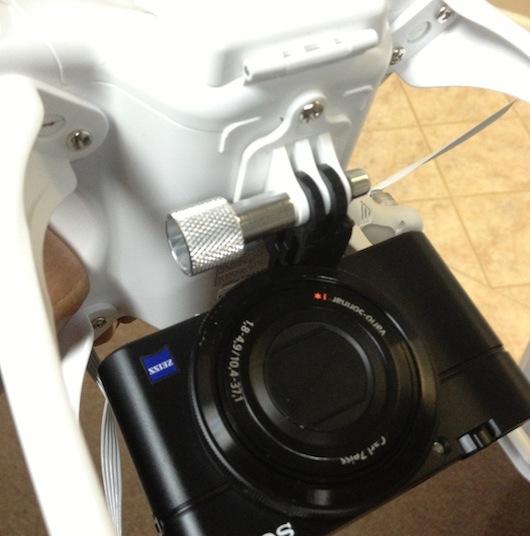 Cheesycam RX100 Phantom Quadcopter