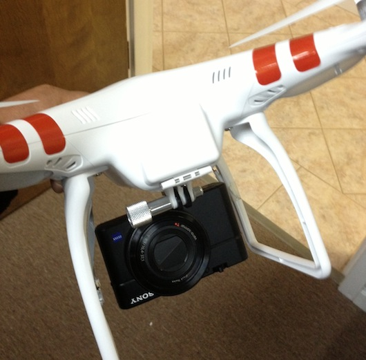 DJI Phantom RX100 Cheesycam
