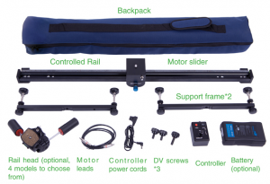 DSLR Video Slider Motorized