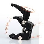 Mini Super Camera Clamp Tripod LightStand