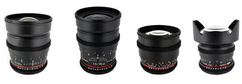 Rokinon Cine Lens Bundle Deals